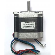 Шаговый двигатель GD57STH51-2804A (shaft 6,35mm)